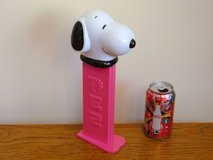 Giant Musical PEZ Snoopy Candy Dispenser Charles Schultz Peanuts Character in Chicago, Illinois