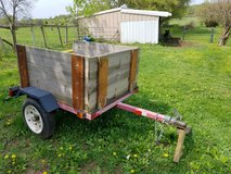 Nice smaller utility trailer lawn cart in St. Charles, Illinois