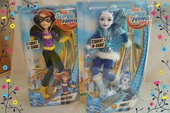 Super Hero Girls ~ Batgirl and Frost in Cherry Point, North Carolina
