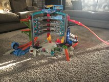 Hot Wheels Ultimate Garage Playset with Attack Shark Spiral Ramp Electronic Sounds Raceway in Fort Hood, Texas