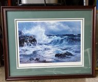 Moonlight and Surf Print by Charles Vickery in St. Charles, Illinois
