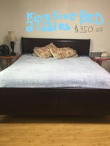 KING SIZE BED COMPLETE in Osan AB, South Korea