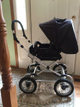 BLACK BUMBLERIDE STROLLER AND PRAM in Naperville, Illinois