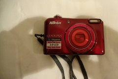 Nikon CoolPix Camera, Point and shoot. 20.1 MP and 5X Zoom in Okinawa, Japan