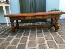 solid wood coffee table from France in Ramstein, Germany