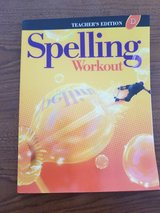 Spelling Workout D - Teacher's Edition in Okinawa, Japan