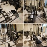 Home gym workout in DeKalb, Illinois
