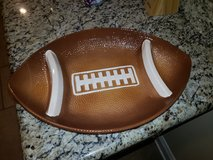 Football Chip and Dip Tray in Leesville, Louisiana