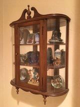 Small Hanging Curio Cabinet in Houston, Texas
