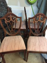 Antique Dining Chairs - Set of 4 in Naperville, Illinois