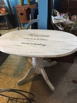 Entry table 46 inches long by 28 inches wide 28 inches tall in Spring, Texas