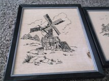 set of two 8 x 10 framed cross stitched pictures in Alamogordo, New Mexico