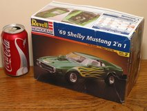 Revell 1969 Shelby 2-in-1 Plastic Model Kit 1:25 Scale in Westmont, Illinois
