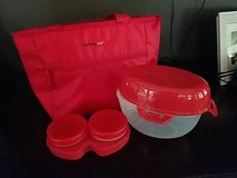 Rachel ray lunch cooler bag with travel container in Baytown, Texas