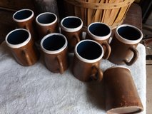 Mexican Pottery Chocolate Mugs - Old in Alamogordo, New Mexico
