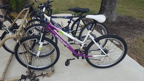 21-speed alpine bicycle + adult helmet + lock in Lackland AFB, Texas