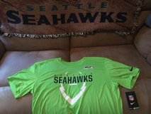 SEATTLE SEAHAWKS - Neon Nike Team Apparel Dri-Fit Shirt (Large) *** NEW *** in Tacoma, Washington