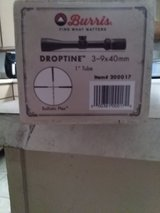 burris droptine  3x9x40 new in box, simmons pro target 3x9x40like new in Fort Leonard Wood, Missouri