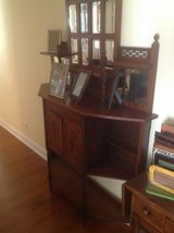 Antique Hall shelf with mirror in Naperville, Illinois