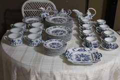 Blue Danube China Japan-54  Pieces in Fort Lewis, Washington