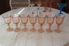 Vintage Cristal D'Arques Water Goblets– 7 Pieces in Tacoma, Washington