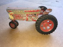 Vintage Metal Tractor Toy in DeKalb, Illinois