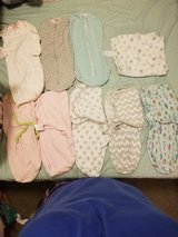 baby clothes/ swaddles ALOT in Fort Polk, Louisiana
