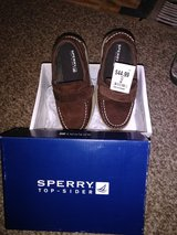 Ready for Christmas  Boys Sperry's size 12 M in Camp Lejeune, North Carolina