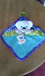 Fisher price polar bear blanket toy in Lakenheath, UK