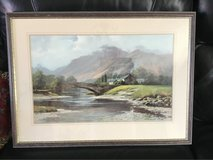 "beautiful large landscape framed picture. 28.5"" by 21"" in Lakenheath, UK"