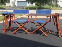 Director's chairs (set of 4) in Naperville, Illinois