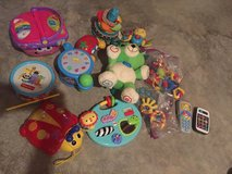 Lot of baby/toddler learning toys in Sandwich, Illinois