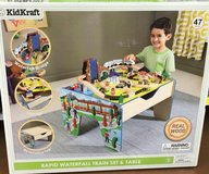 Kids Kraft~Rapid Waterfall TrainSet and Table in Cherry Point, North Carolina