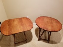 2 ANTIQUE  WILLIAM & MARY DROP LEAF SIDE TABLES in Fort Knox, Kentucky