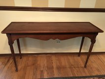 Sofa table in Cary, North Carolina