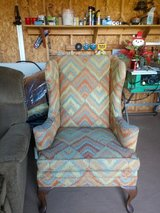 Wing back chair in Wilmington, North Carolina