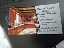 Dianna's cleaning services in Warner Robins, Georgia