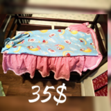 Homemade crib set in Warner Robins, Georgia