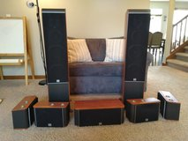 JBL ES-series 7.0 surround sound speaker set in Fort Belvoir, Virginia
