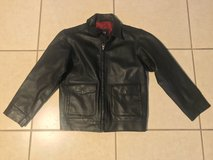 Gap Kids Leather Jacket Size XXL 14-16 Excellent Condition in Travis AFB, California