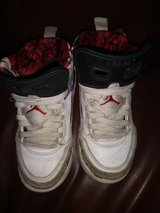 White Jordan shoes in Spring, Texas
