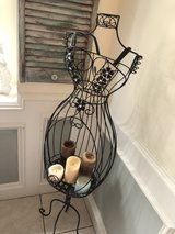 iron dress form. candle holder. in Tomball, Texas