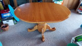Oak kitchen table & 4 chairs in St. Charles, Illinois