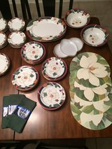 74 piece savannah grove stoneware magnolia collection in DeRidder, Louisiana