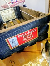 antique cigar label crate in Camp Lejeune, North Carolina