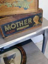 "antique ""Mothers"" box in Camp Lejeune, North Carolina"