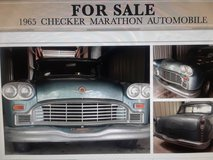 1965 and 1968 Checker Marathons and Bunch of parts. in Kingwood, Texas