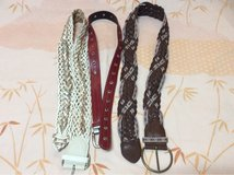 BELT OR STRAP 4 DIFFERENT STYLES** in Okinawa, Japan