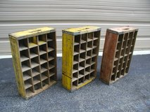Old Wooden Bottle Crates for Glass Pepsi/CocaCola in Cherry Point, North Carolina