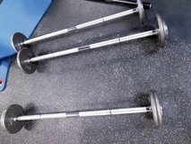 Fixed Barbells 30-50# in Fort Polk, Louisiana
